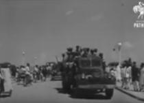 निजामाची शरणागती आणि त्या नंतर भारतीय सैन्याचे संचलन व्हिडीओ 2