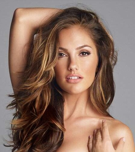 Minka Kelly in Human J.J. Abrams. Ariana Grande Platinum Blonde Hair