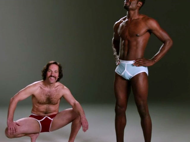 Brian Fantana the underwear model