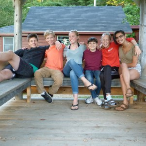 The Class of '18 back in the gazebo.