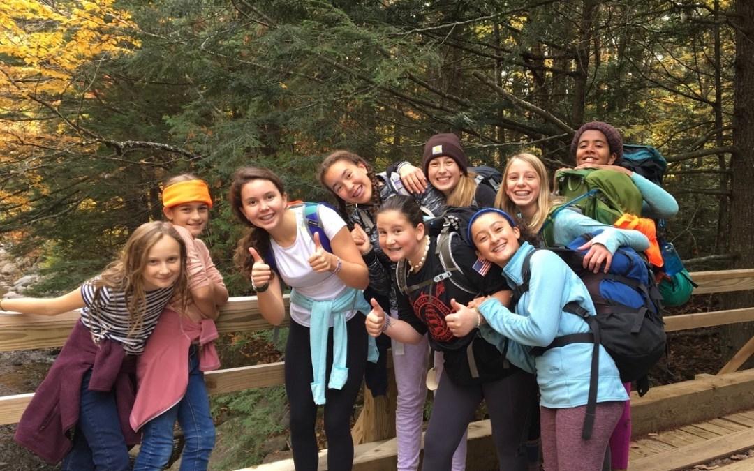 Upper School Hiking Trip to Poplar Hut