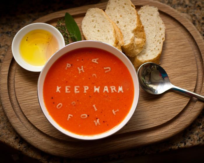 keep warm soup