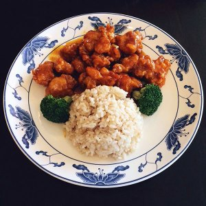 General Tso's Chicken (Lunch) - Asia Grill