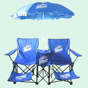 chaises de plage avec parasol beach chairs with umbrella