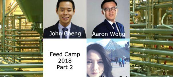 Feed Camp 2018: John Cheng, Aaron Wong and Wynne Peh