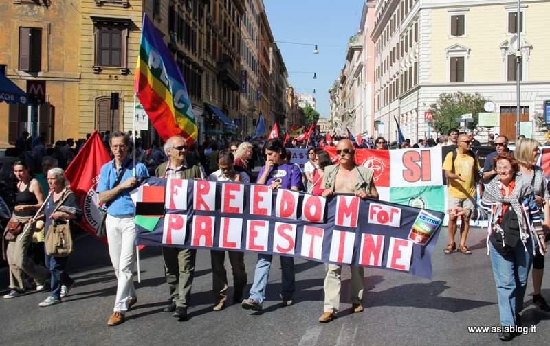 Freedom for Palestine. Foto Alessio Fratticcioli