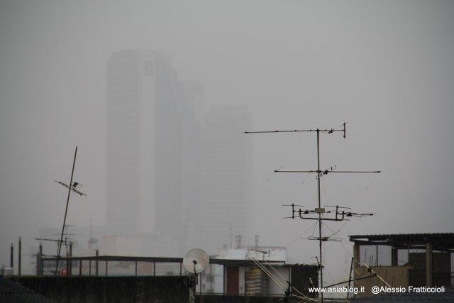 pioggia a Bangkok, Thailandia, Foto Alessio Fratticcioli