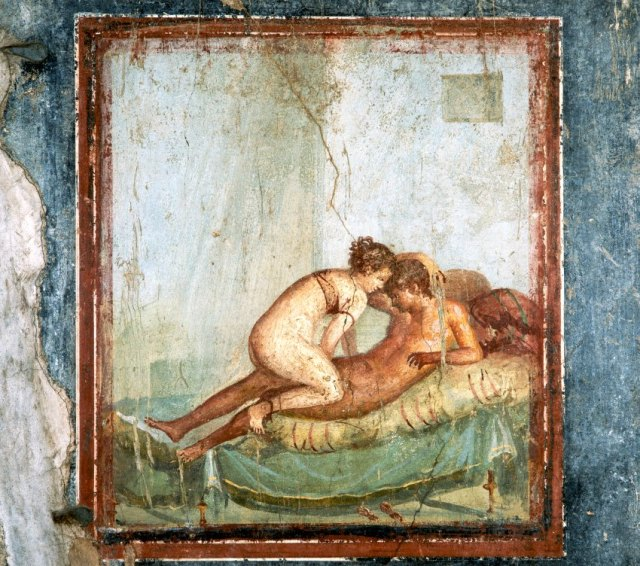 Erotic Fresco Painting