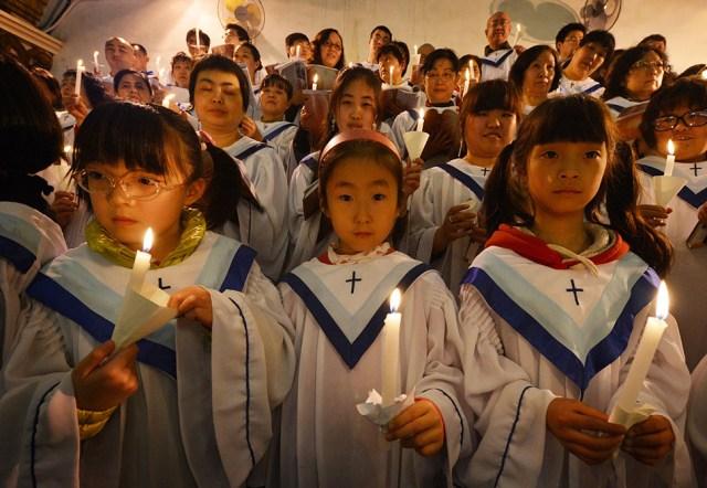 Pasqua in Cina