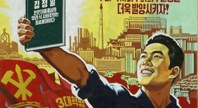corea del nord propaganda manifesto libro