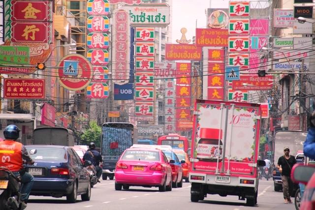 bangkok thailandia china town foto alessio fratticcioli