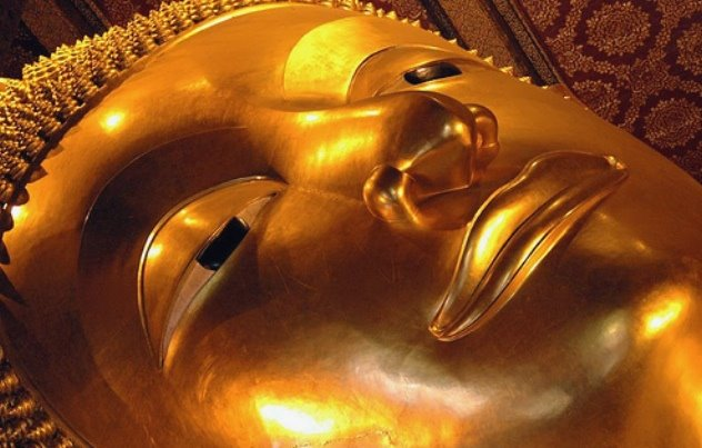 thailandia bangkok Wat Pho statua buddha