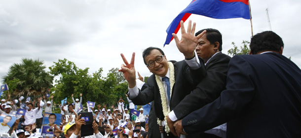 sam rainsy cambogia elections