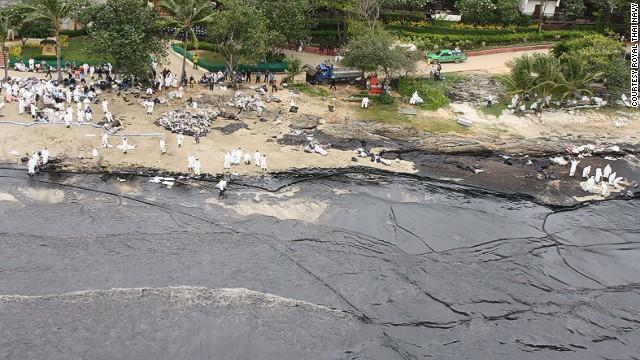thailandia isola di koh samet disastro ambientale