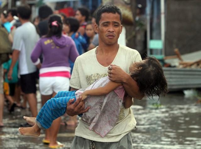 Philippins typhoon haiynan