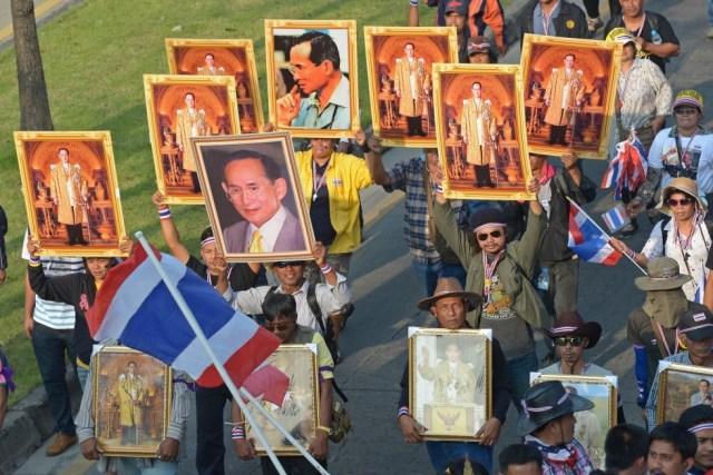 Bangkok proteste thailandia