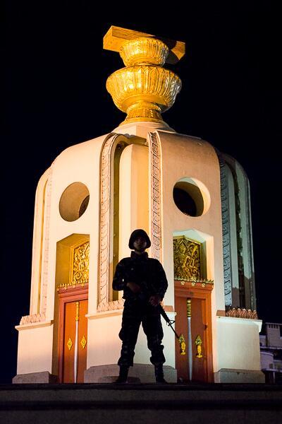 thailandia Monumento alla Democrazia