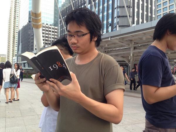 Thailandia colpo di stato proteste libri Orwell dittatura