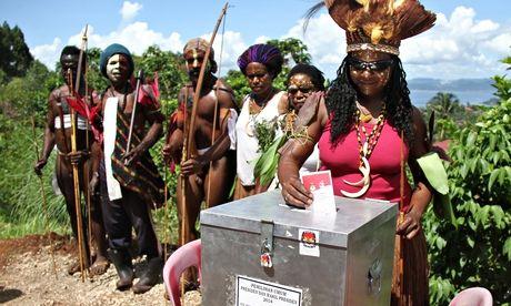 Jayapura Papua indonesia election