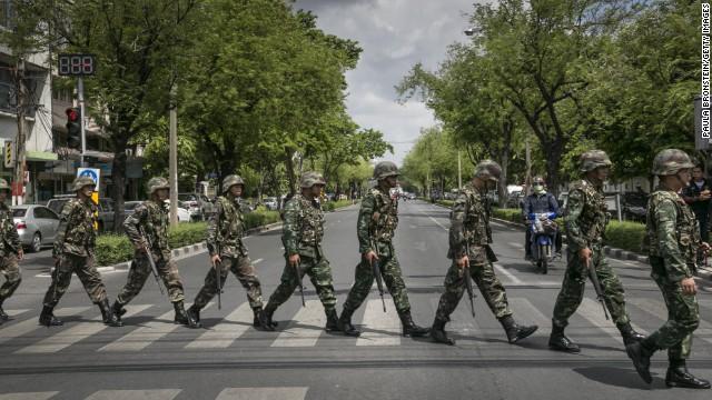 thailand military power regime