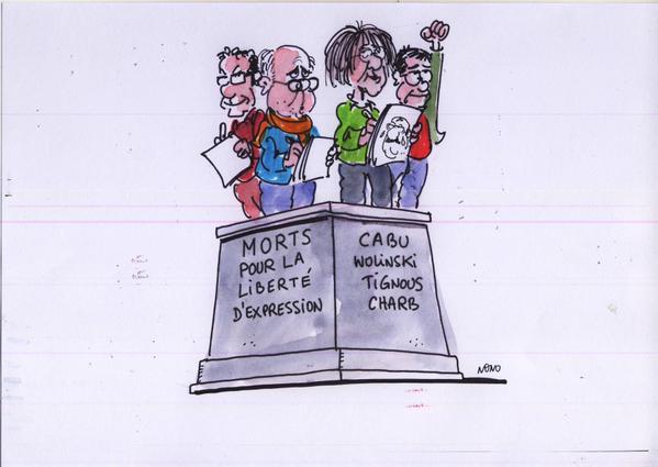 Charlie Hebdo liberta'