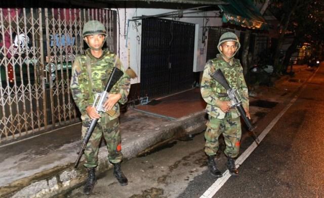 Thailandia bombe morti Foto AFP