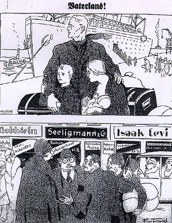 vignette nazister der sturmer ebrei