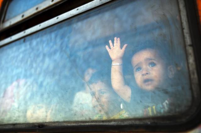 bambino siriano migrante profugo profughi