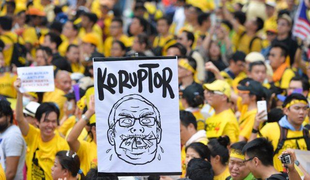 manifestazione Bersih4 Malesia