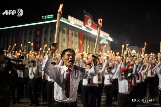Parata Corea del Nord