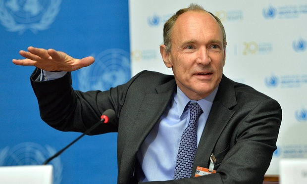 Tim Berners-Lee, fondatore del World Wide Web, che ha chiesto una reinvenzione dei social media. Foto: Martial Trezzini / EPA