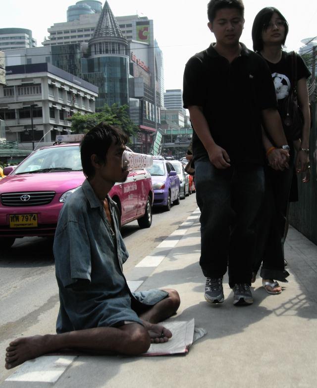 Bangkok - Mendicante