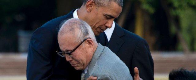Obama a Hiroshima (foto APF)
