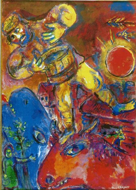 Il tamburino - Marc Chagall