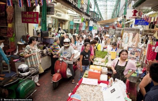 Bangkok oggi: Sampeng Lane Market