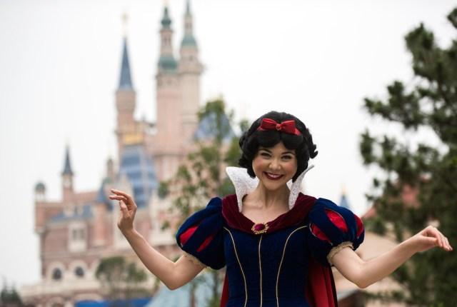 Disneyland Shanghai Cina 2016