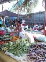 Il mercato di Tangalle, Sri Lanka. Foto Roberta Benini