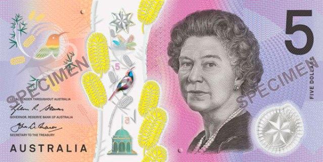 Australia banconota dollari ciechi