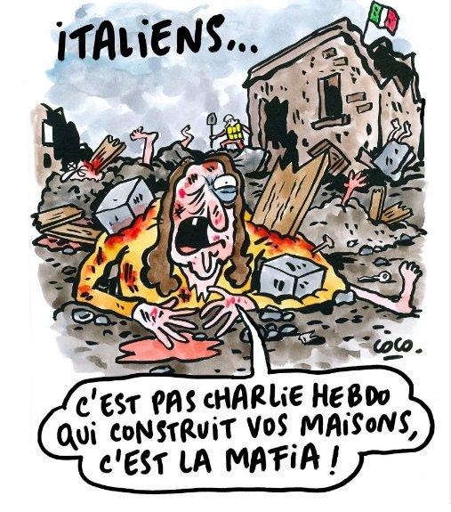 Charlie Hebdo morti terremoto mafia