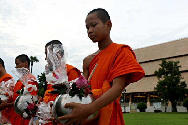 Monaci Chiang Mai, Thailandia. Foto Manuela Vitulli