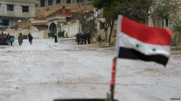 Possibile svolta in Siria con Stati Uniti e Russia che hanno finalmente trovato un accordo per un cessate il fuoco. Foto Reuters