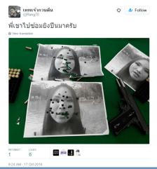 Thailandia Aum Neko minacce di morte