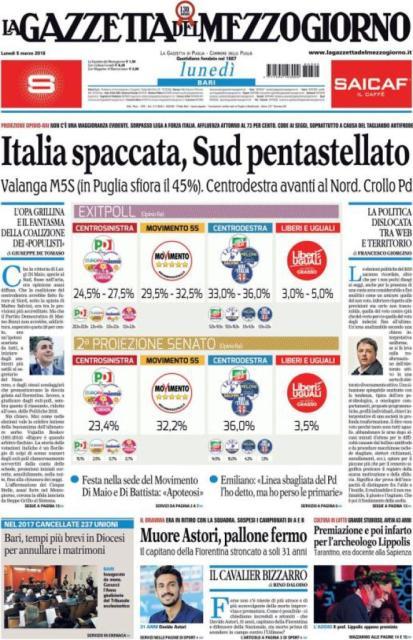 elezioni_prima_pagina_Gazzetta_Mezzogiorno