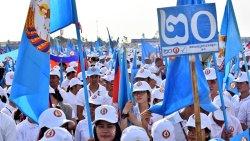 cambogia elezioni hun sen comizio