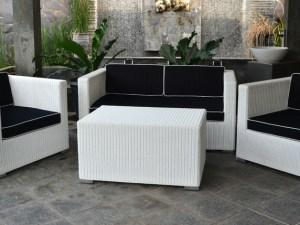 Set Kursi Sofa Rotan Sintetis Indoor