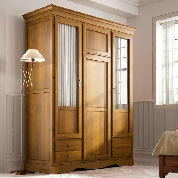 Lemari Pakaian Minimalis Pintu Modern