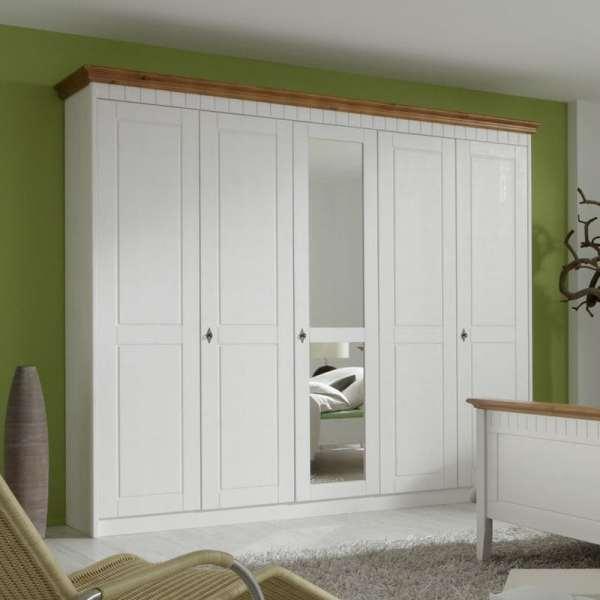 Lemari Pakaian Pintu Warna Putih Minimalis