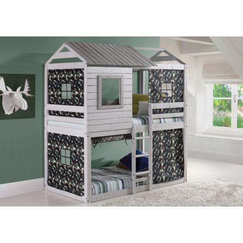 Tempat Tidur Tingkat Model Rumah