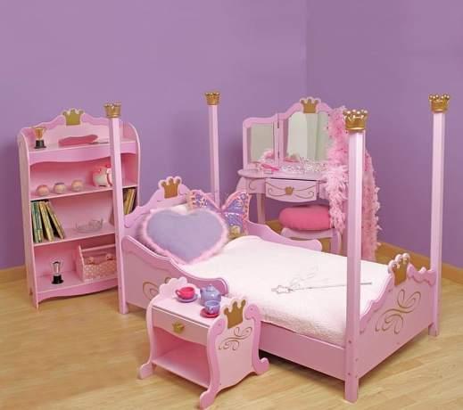 Set Kamar Tidur Anak Pink