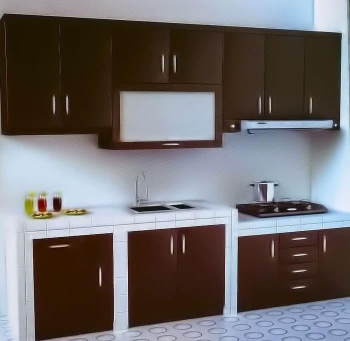 Jual Kitchen set Multiplek HPL Minimalis